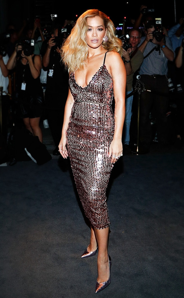 Rita Ora From Sequined Dresses For Every Holiday Party E News