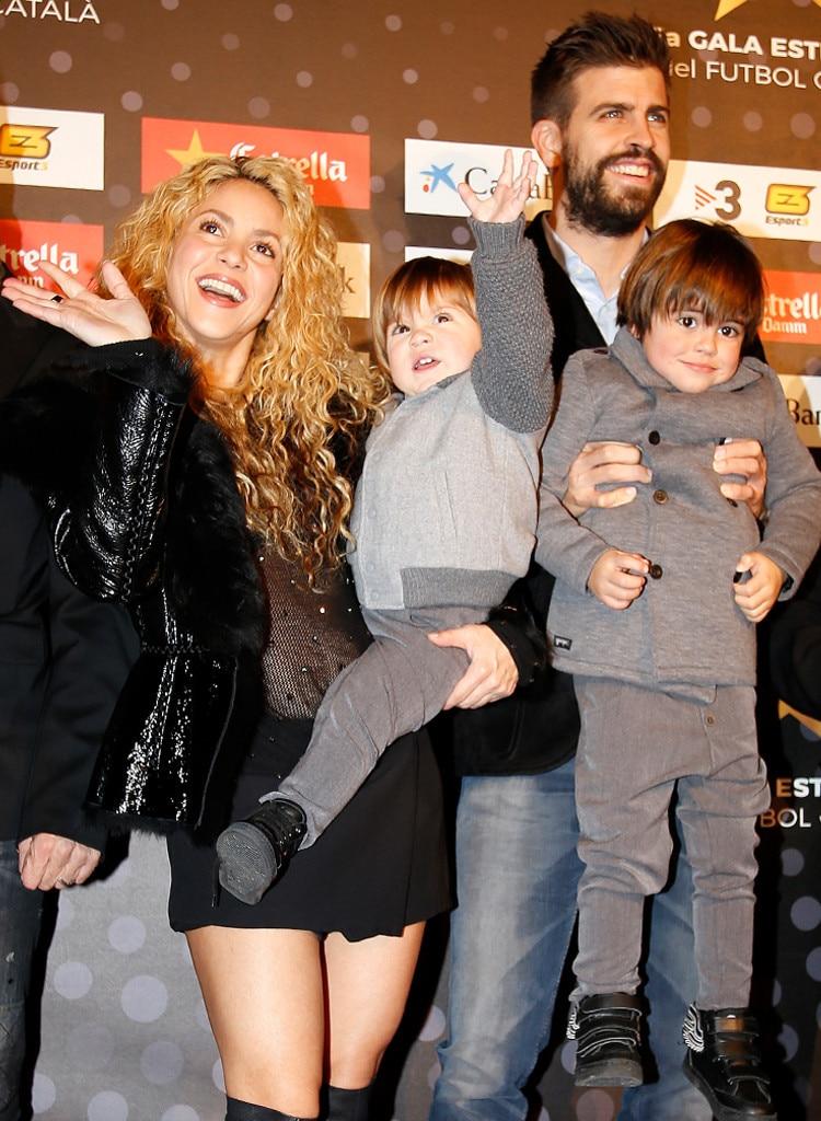 Shakira, Gerard Pique, Milan, Sasha