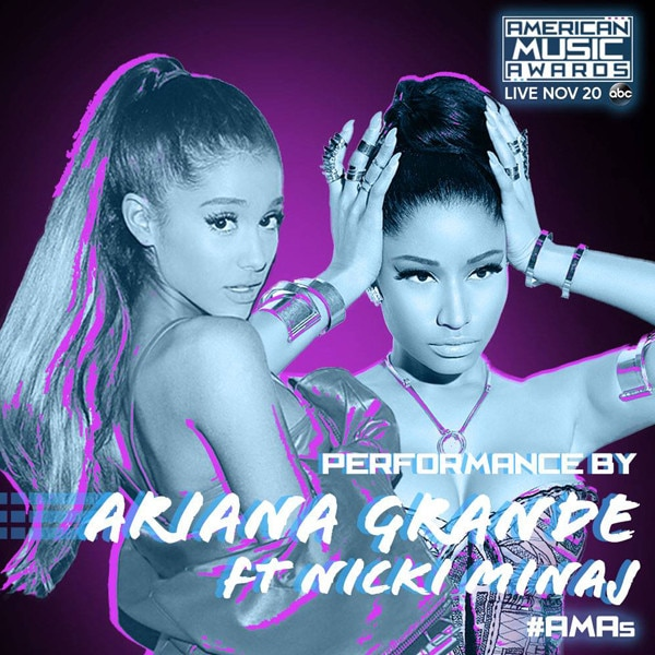 Nicki Minaj, Ariana Grande, American Music Awards