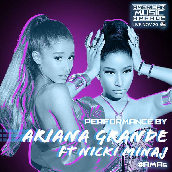 Nicki Minaj, Ariana Grande, American Music Awards