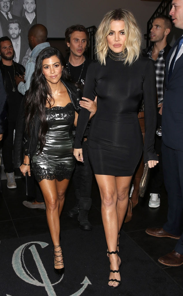 Kourtney Kardashian, Khloe Kardashian, Kendall Jenner, 21st Birthday