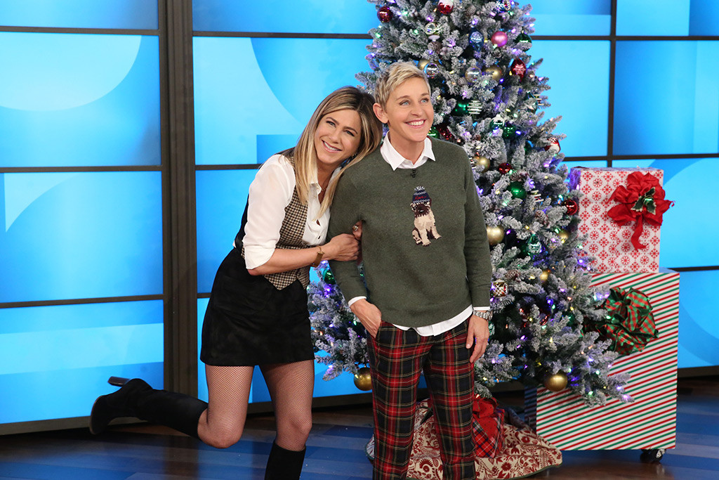 Jennifer Aniston, Ellen DeGeneres, The Ellen DeGeneres Show