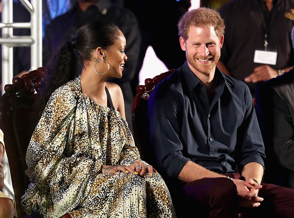 Prince Harry, Rihanna, Barbados