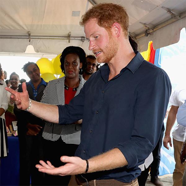 Prince Harry, Caribbean Day 9