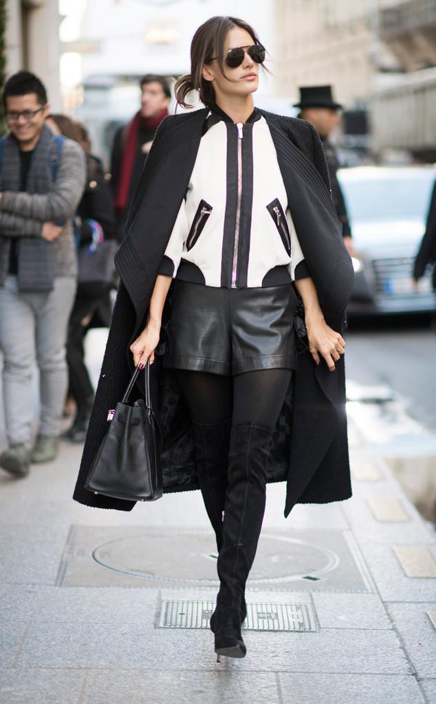 ESC: VS Street Style, Alessandra Ambrosio