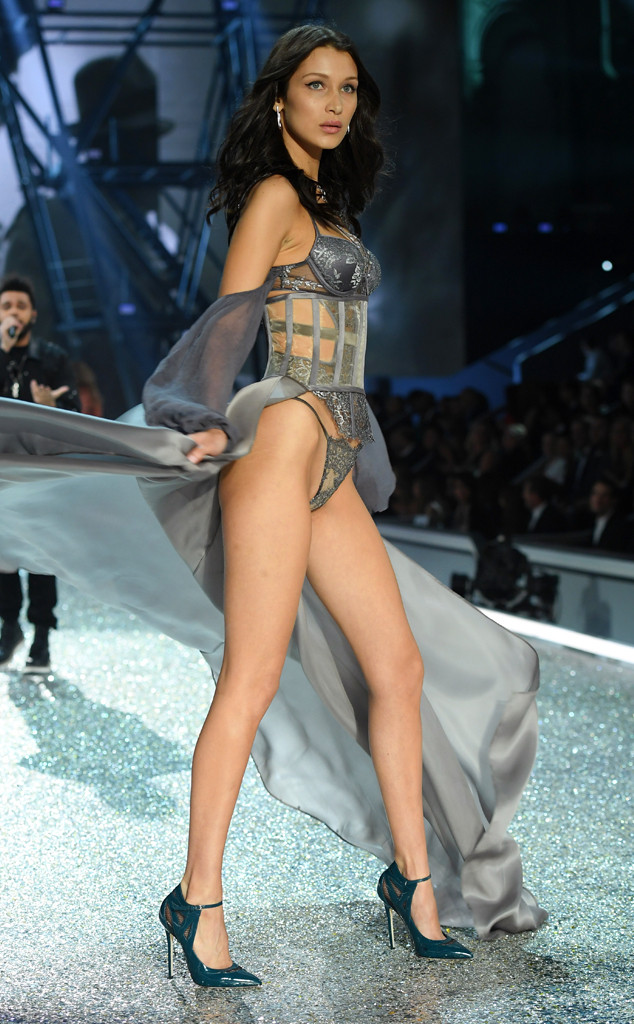 Bella Hadid, 2016 Victoria's Secret Fashion Show