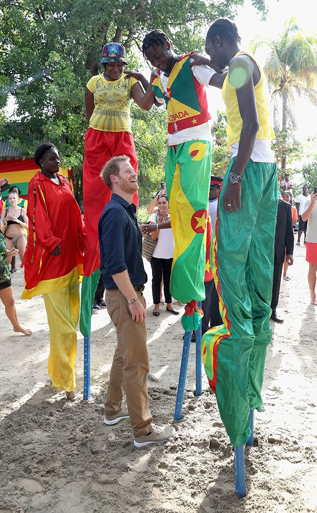 Prince Harry, Grenada, Caribbean Day 9