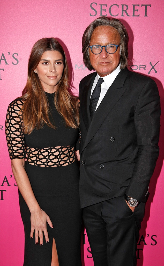 Mohamed Hadid, Shiva Safai, 2016 Victoria's Secret Pink Carpet
