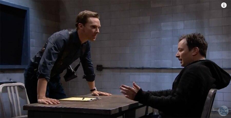 Benedict Cumberbatch, Jimmy Fallon