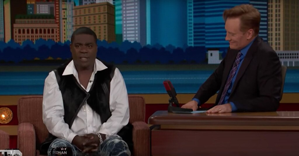 Tracy Morgan, Conan O'Brien, Conan
