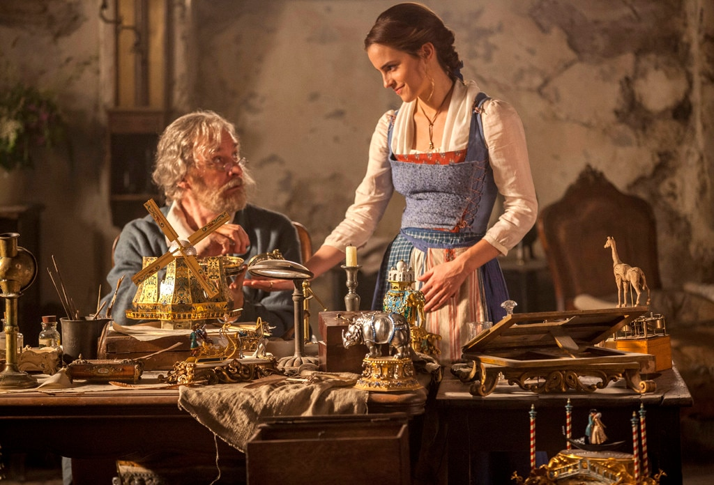 Beauty and the Beast, Emma Watson, Kevin Kline