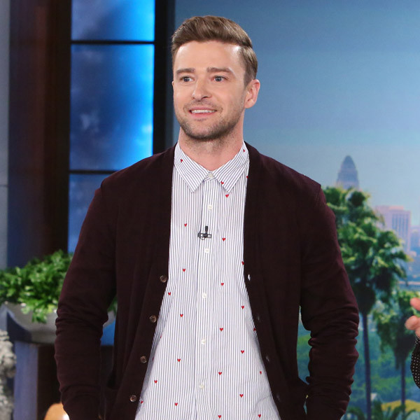 Justin Timberlake, Ellen DeGeneres