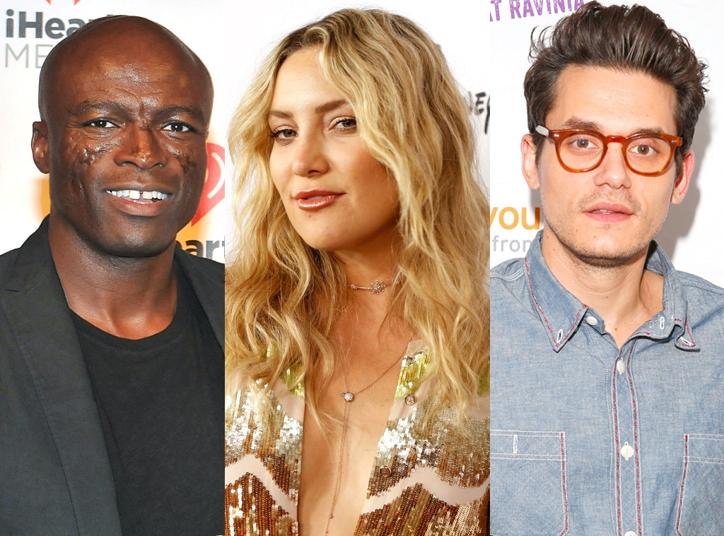 Kate Hudson, Seal, John Mayer