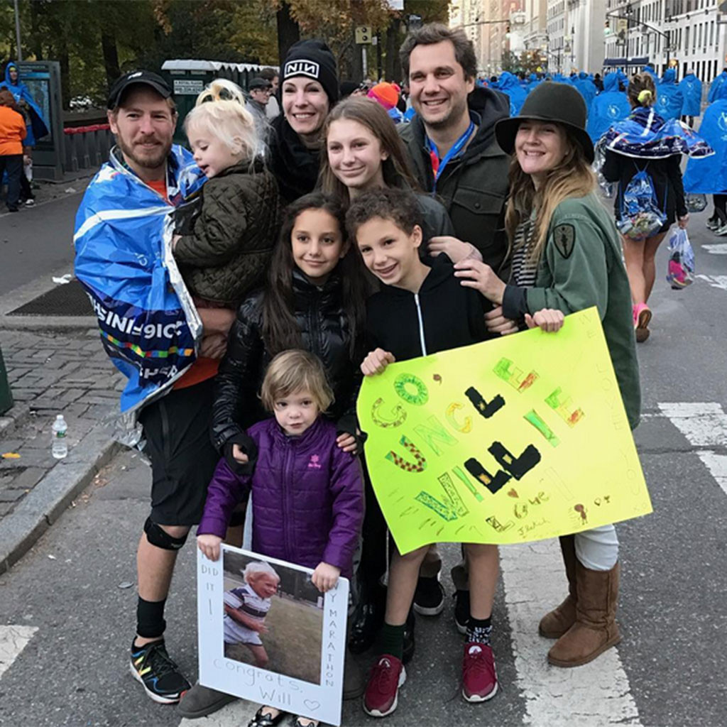 Drew Barrymore, Will Kopelman, New York Marathon
