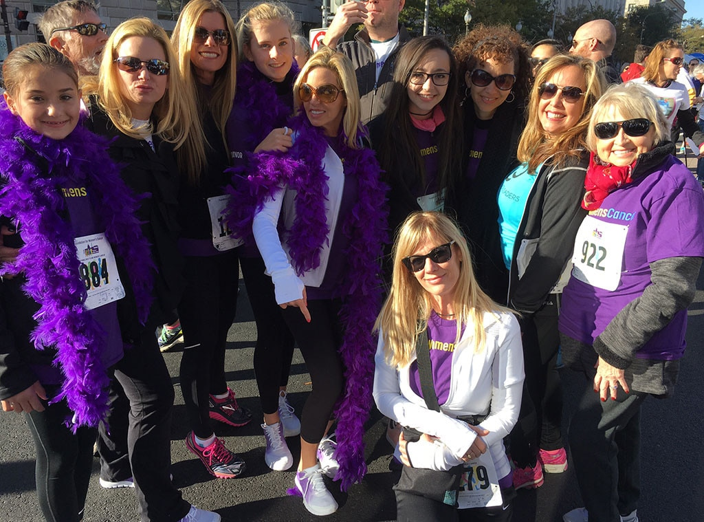Camille Grammer, End Womens Cancer, Freedom Plaza
