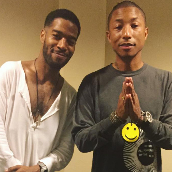 Kid Cudi, Pharrell, Instagram