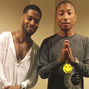 Kid Cudi, Pharrell, Instagram
