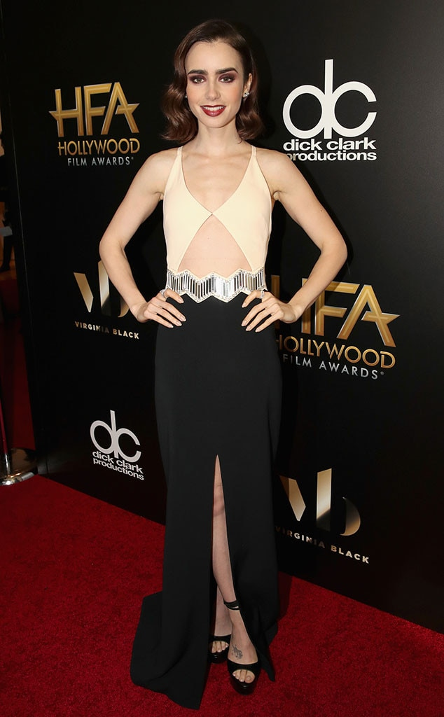 Lily Collins, 2016 Hollywood Film Awards