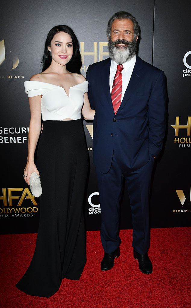 Rosalind Ross, Mel Gibson, 2016 Hollywood Film Awards