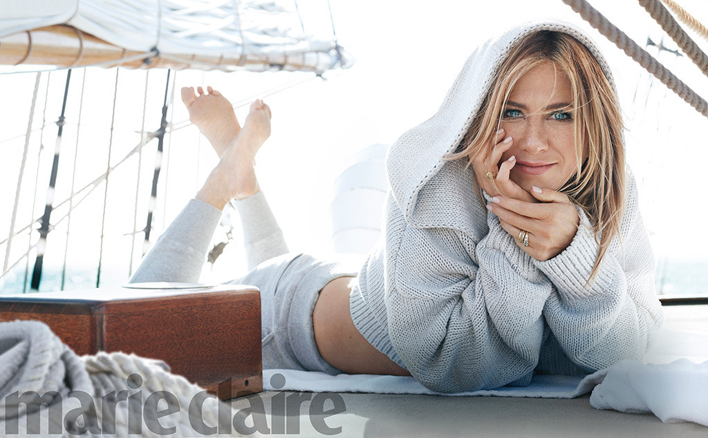 Jennifer Aniston, Marie Claire