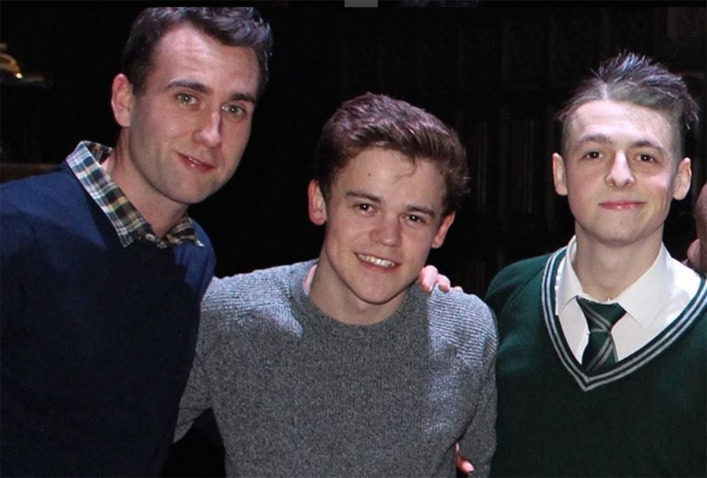 Matthew Lewis, Anthony Boyle, Sam Clemmett