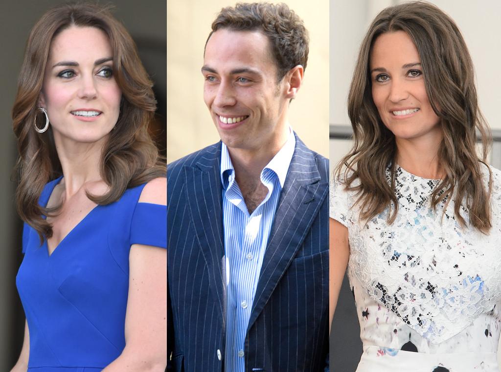 Kate Middleton, James Middleton, Pippa Middleton