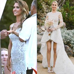 Audrina Patridge, Whitney Port, Kristin Cavallari, Wedding