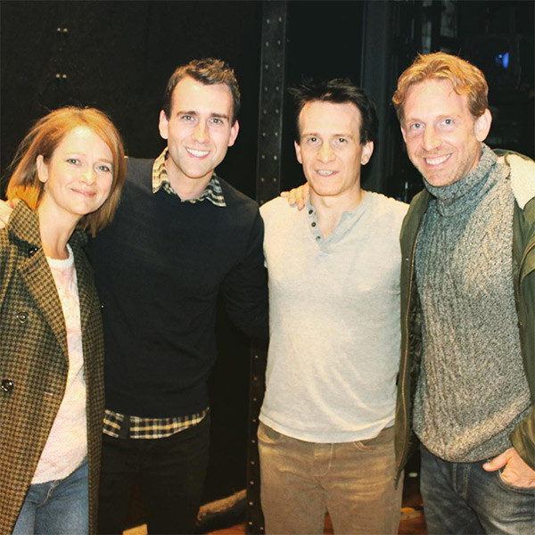 Matthew Lewis, Poppy Miller, Jamie Parker,  Paul Thornley
