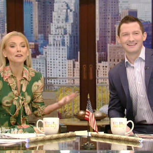 Kelly Ripa, Richard Curtis, Live! With Kelly