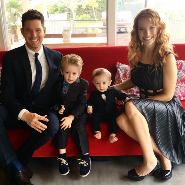 Michael Bublé and Luisana Lopilato Give an Update on Son Noah's Cancer Treatment