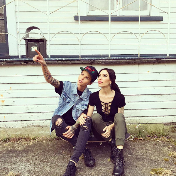 Ruby Rose, Jess Origliasso, Instagram