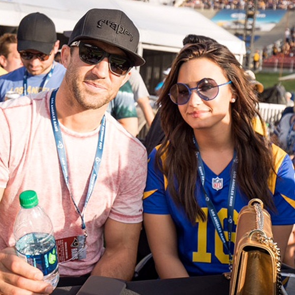 Demi Lovato Makes Luke Rockhold Relationship Instagram Official With This Pic