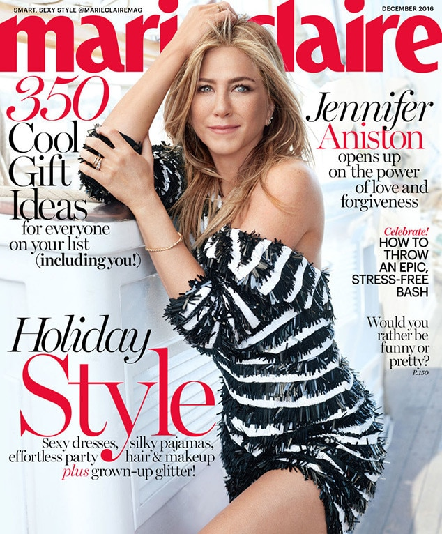 Jennifer Aniston, Marie Claire