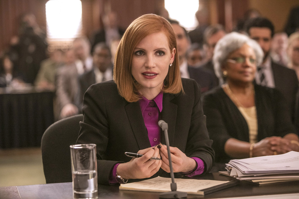 Miss Sloane, Jessica Chastain