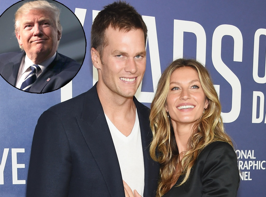 Gisele Bundchen, Tom Brady, Donald Trump