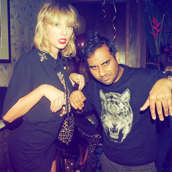 Taylor Swift, Aziz Ansari