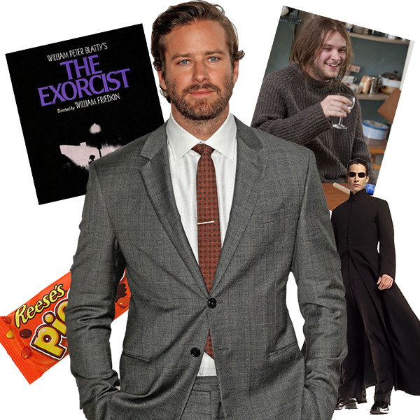 Going to the Movies with Armie Hammer