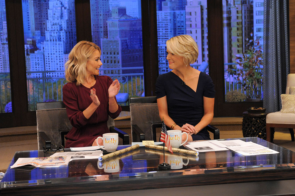 Kelly Ripa, Megyn Kelly, Live With Kelly