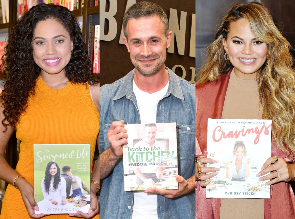 Stars and Their Cookbooks