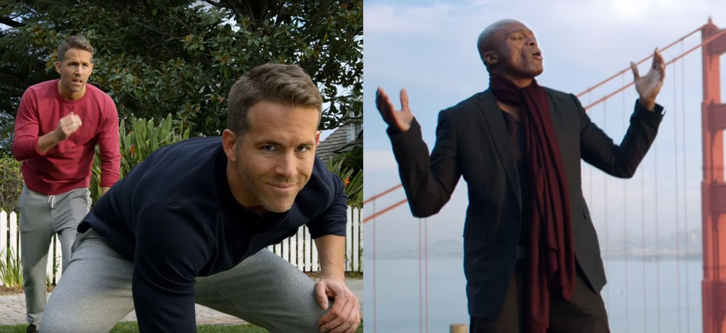 Superbowl Commericials, Ryan Reynolds, Seal