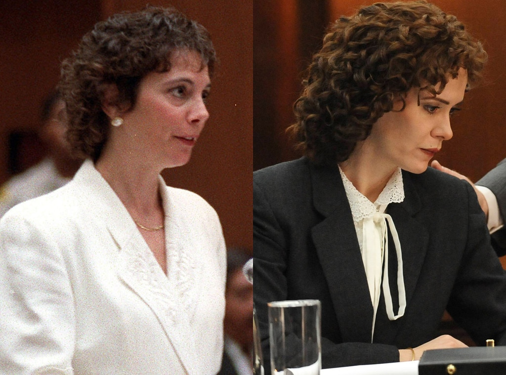 American Crime Story, The People v. O.J. Simpson, Marcia Clark, Sarah Paulson