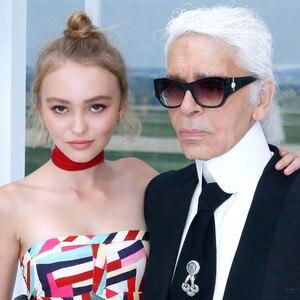 Karl Lagerfeld, Lily-Rose Depp