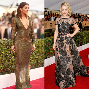 Eva Longoria, Rachel McAdams, SAG Awards