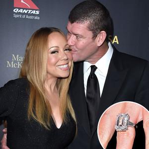 James Packer, Mariah Carey, Engagement Ring
