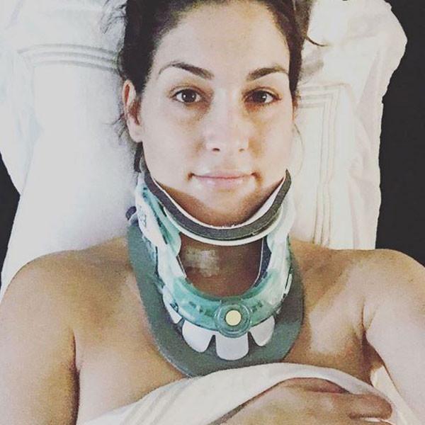 Nikki Bella Shares Post-Neck Surgery Photo With Her ... Nikki Bella Instagram