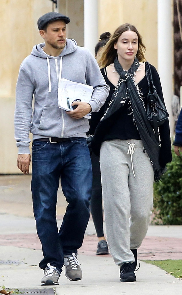 Charlie hunnam and his wife join told