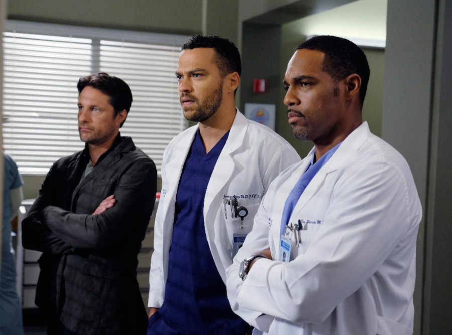 Jason George, Martin Henderson, Jesse Williams, Grey's Anatomy