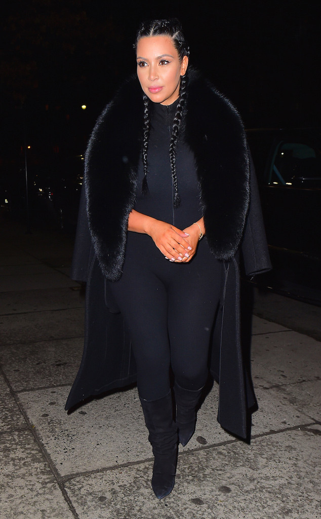 Kim Kardashian, New York Fashion Week Star Sightings