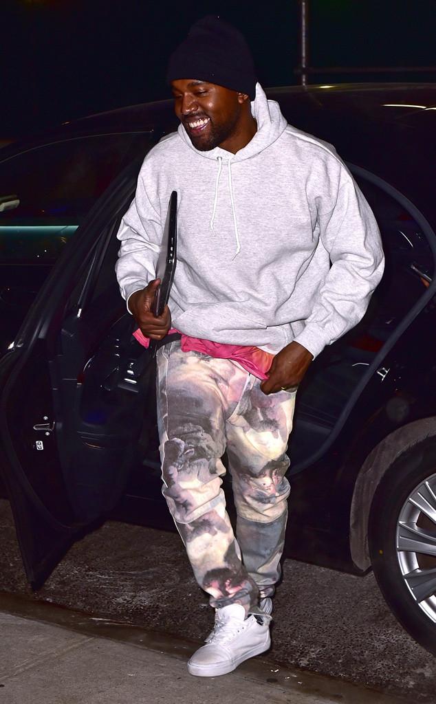 Kanye West, New York Fashion Week Star Sightings