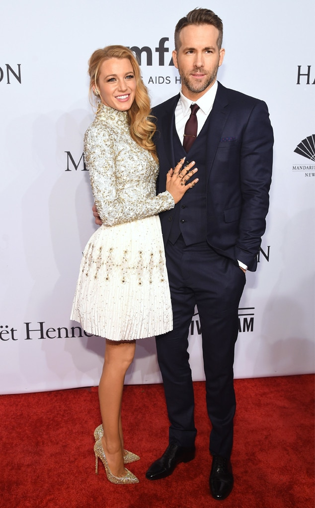 Blake Lively, Ryan Reynolds, amfAR